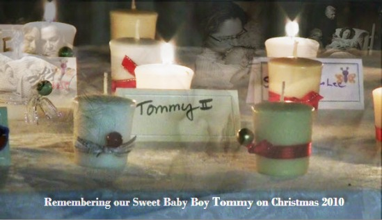 Remembering our sweet baby boy Tommy - Christmas-2010